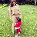Sania Mirza Shares Cute Pics With Son Izhaan