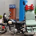 DRDO designs bike ambulance