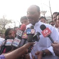 Atchannaidu broke into tears after released from jail