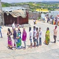 No Distence and Masks in Yadadri