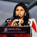 Bhuma Akhila Priya comments on declaration issue