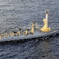 Brahmos missile successfully hits the target in Arabian Sea