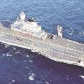 Indian War Ship at South China Sea