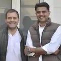 Congress Sources said that Rahul Wants Sachin Piolt