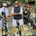 Want tension at border to end says Rajnath Singh