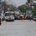 Heavy Rains in warangal and karimnagar district