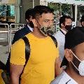 Skipper MS Dhoni arrives Chennai as Super Kings started celebrations