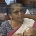 Trinamool MPs Comment On Nirmala Sitharaman Deleted