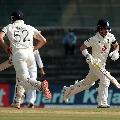 England bats very slowly in Chennai test