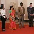 Indian Techchie Sudha Sworn In As US Citizen In Rare White House Event