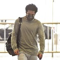 Junior NTR spotted at Hyderabad airport