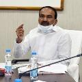 Telangana health minister Eatala Rajendar opines on corona new strain