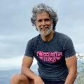 Milind Soman Runs Naked On Goa Beach