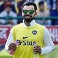 Kohli funny warm up went viral on social media