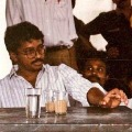 Ram Gopal Varma A moment from the sets of SHIVA