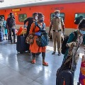 Declining rail passengers in secunderabad railway station