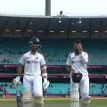 Fourth day play ends in Sydney test
