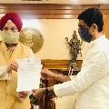 AP Finance Minister Buggana Rajendranath Reddy met Union Minister Hardeep Singh