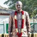 Arun Jaitleys statue unveiled at Feroz Shah Kotla stadium
