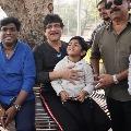 Nagarjuna laid foundation for a park in Hyderabad