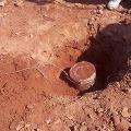 Maoists planting mines on the Bhadrachalam Charla main road
