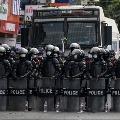 Myanmar military impose curfew