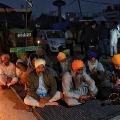 Punjab Farmer Protesting Near Delhi Border Dies Amid Cold Wave