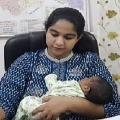 IAS Officer On Duty With Born Baby