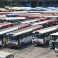 No Travellers for 1st Day Interstate Buses Between AP and TS