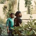 Hero Allu Arjun visits director Maruthi office in Hyderabad