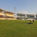 End of third day play in Chennai test