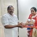 Actress Archana meets AP BJP Chief Somu Veerraju