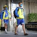 Chennai Super Kings skipper MS Dhoni wins the toss against Sunrisers Hyderabad