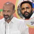 Telangana bjp chief bandi sanjay slams AP minister Kodali Nani