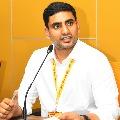 Nara Lokesh says that will take care of Nandam Subbaiah children