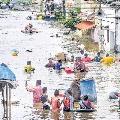 Central team to visit flood hit Telangana