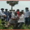 Clashes between YSRCP members in Srikakulam district