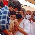 Actor Vijay pays tributes to SP Balu