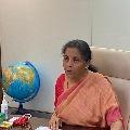 Finance minister Nirmala Sitharaman terms corona pandemic an act of god