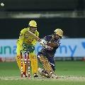 Nithish Rana registers a fine innings against CSK