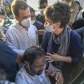 Priyanka Human Shield to Protect Congress Cadre
