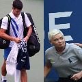 world number 1 Novak Djokovic disqualified from the US Open