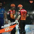 Sun Risers Hyderabad defeated Mumbai by 10 wickets