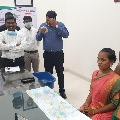 Ananthapur district collector handed over his charge to Inter student for a day