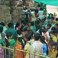 Last Karthika Monday today heavy rush in Siva Temples