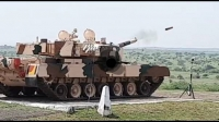 DRDO successfully test fires the indigenously developed Laser Guided Anti Tank Guided Missile (ATGM)
