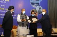 Raksha Mantri Rajnath Singh hands over DRDO systems to Armed Forces Chiefs