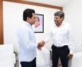 Kapil Dev called on KTR