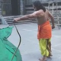 Simhachalam Priest Game With Snake