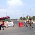 Heavy Traffic Jam at Andhra Telangana Border
